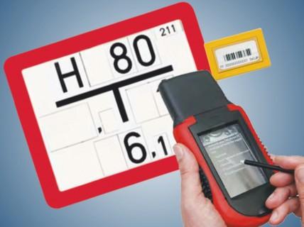 RFID Schild